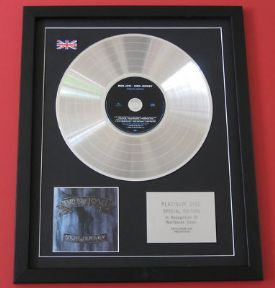 BON JOVI - New Jersey CD / PLATINUM PRESENTATION DISC